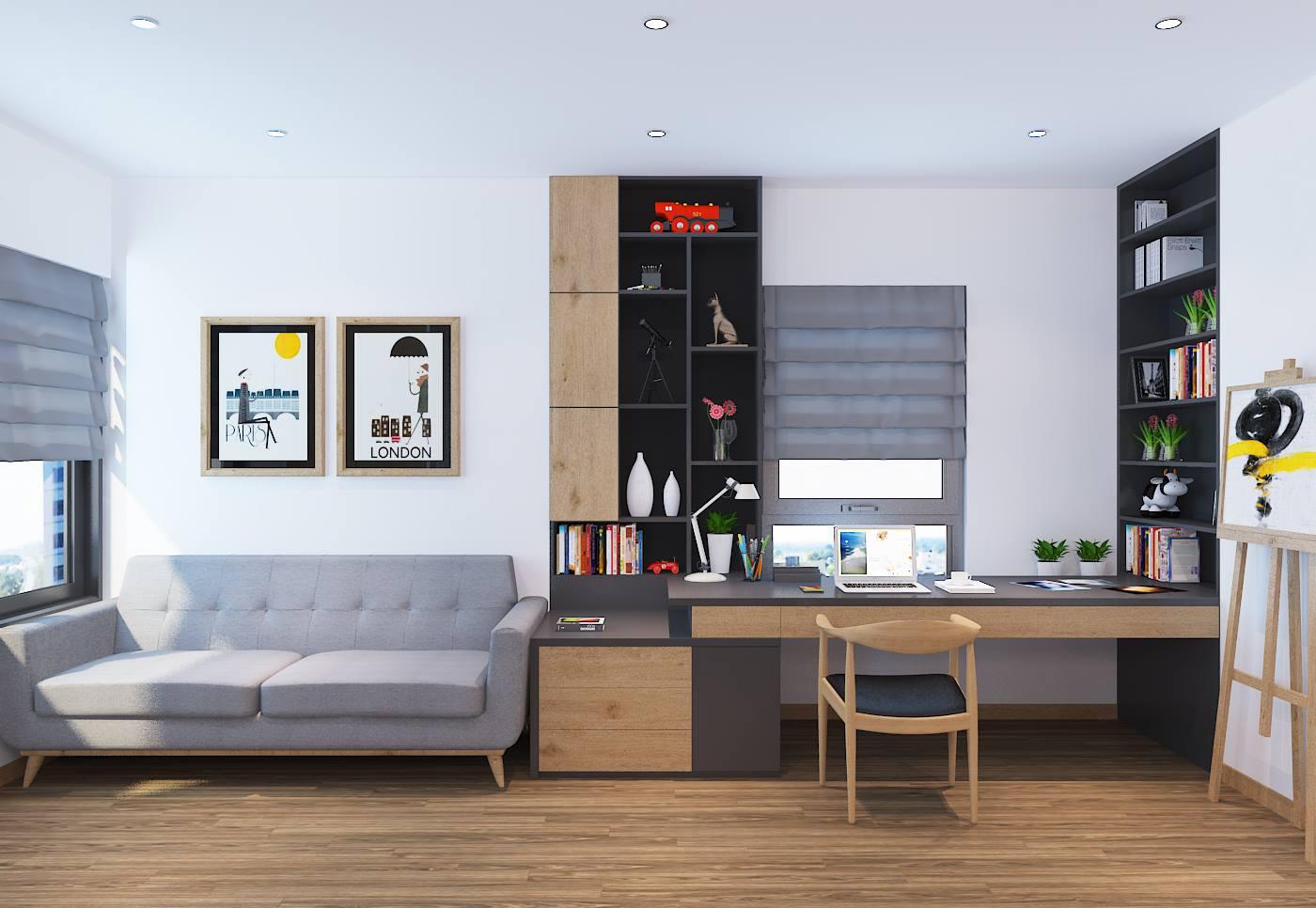 Sản xuất thi công đồ gỗ nội thất căn hộ, chung cư