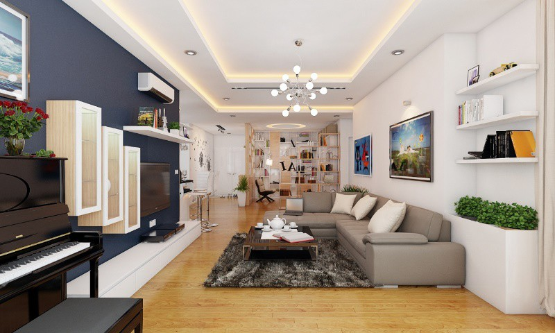 thi công lắp đặt nội thất căn hộ
