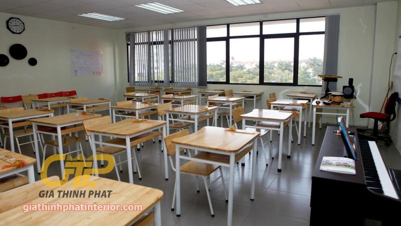 Danh sách Công ty xưởng thi công lắp đặt nội thất trường học giá rẻ
